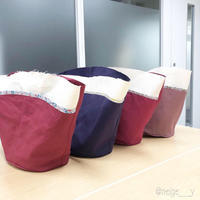 【ヴォーグ学園横浜校】制作中のバッグとソレイアードのトート♪ - neige+ 手作りのある暮らし