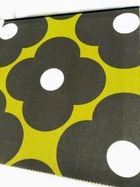 ミッドセンチュリー家具にも北欧家具にも合うレトロモダンなカーテンファブリック - Daily Green (デイリー・グリーン)