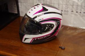 NEXXヘルメット補修 -