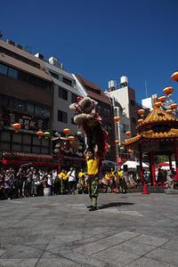 中秋節のメインイベントは獅子舞 - スポック艦長のPhoto Diary