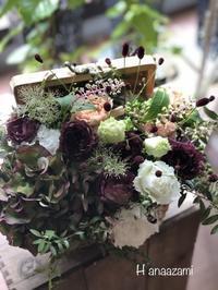 お店のお花とアレンジのご紹介 - 暮らしに花を 〜    花あざみ安城  0566‐77-4187