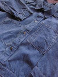 1910'S〜 UNKNOWN OFF SET TWO POCKET PINCHECK WORK JACKET - ROCK-A-HULA Vintage Clothing Blog