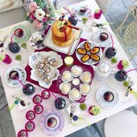 カフェみたいな絵付け教室 - nico☆nicoな暮らし~絵付けと花とおやつ