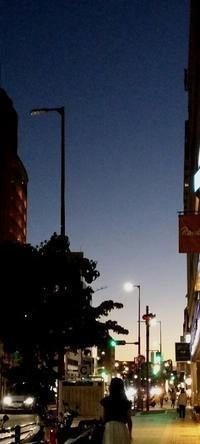 空③人工の明かりが無数にあるし、騒々しいが、好きな空 - ぺらぺらうかうか堂(本&フィギュアスケート&映画&雑記)