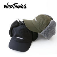 WILD THINGS [ワイルドシングス] FLIGHT CAP [WT18127Y] フライトキャップ・耳あて付き・耳ボア・ボア付き MEN'S/LADY'S - refalt blog
