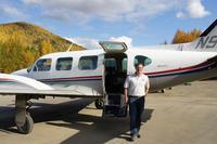セスナ遊覧飛行と温泉、そしてオーロラ - オートクチュールの旅日記