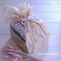 ◆ラッピング*ペーパーナプキンアソートメントをギフトに♡ - フランス雑貨とデコパージュ&ギフトラッピング教室 『meli-melo鎌倉』