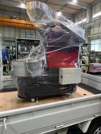 GRN熱風焙煎機GRN-5が台湾へ旅立ちます。 - マイスターの自家焙煎日記