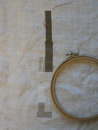 ちくちく針仕事85 / VINTER ② 相撲と刺繍 - そらいろのパレット