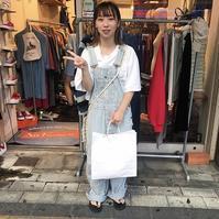 お客様スナップ! - 「NoT kyomachi」はレディース専門のアメリカ古着の店です。アメリカで直接買い付けたvintage 古着やレギュラー古着、Antique、コーディネート等を紹介していきます。