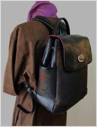 リュックが出来ました - 「lam」バッグ製作と日々のくらし・・・