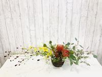 秋の気配☆ - Flower Days ~yucco*のフラワーレッスン&プリザーブドフラワー~