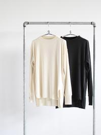 unfil raw silk ribbed-jersey long-sleeve tee - 『Bumpkins putting on airs』