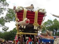 百舌鳥八幡宮秋祭り - これから見る景色