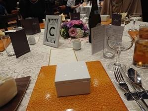 披露宴の食事 - ぼけぼけ夫婦の備忘録