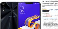 米アマゾンで旧モデル SDM845 ZenFone5Z(ZS620KL)が339ドルに値下がり中 - 白ロム転売法