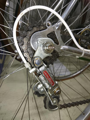 ラレーの自転車。 -