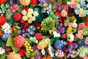 新刊「フェルトで作る大人の花101」の表紙裏話 - フェルタート(R)・オフフープ(R)立体刺繍作家PieniSieniのブログ