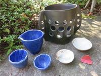 9月17日に窯出しした会員作品です! - きらく陶工房 陶芸教室