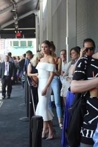 N Yファッションウィーク中のストリートファッション1 - NY人生一瞬先はバラ色