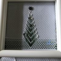 スウェーデン刺しゅうのクリスマスツリー【13】試作始めました - Oharibako no yousei