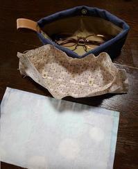 置き眼鏡ケースを作ってみた♪ - 井ノ中カワズの井戸端ばなし
