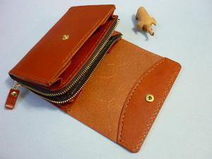 第2の財布とは!・・L字ファスナー・中財布 -