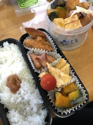 9月20日(金 - 高校男子弁当ときどき趣味&動物