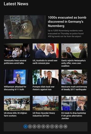Press TV Latest - 隠れ応援者のブログ