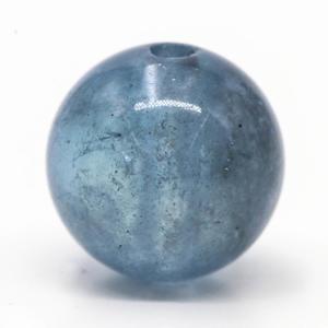 透明感のあるブラックスターアクアマリンのビーズ - すぐる石放題