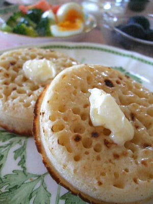 クランペットで朝食を - K's Sweet Kitchen
