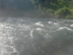 2019年9月15日大分県日田市三隈川大山川鮎釣り友釣り -