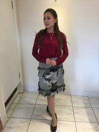モノトーンのツイードスカート - ★ Eau Claire ★ Dolce Vita ★