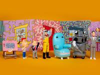 """お待ちかね、""""ピーウィーのプレイハウス"""" のフィギュア - 下呂温泉 留之助商店 店主のブログ"""