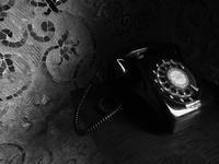 265_黒電話 - デザインスタジオ バオバブのスクラップブック