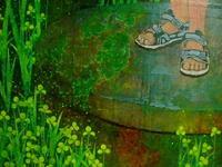 第73回 二紀展 出品作品(制作⑮・描き込み) - スズキヨシカズ幻燈画室