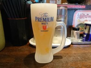 9/22 味の天徳高幡不動店 油そば & プレモル生 - 無駄遣いな日々