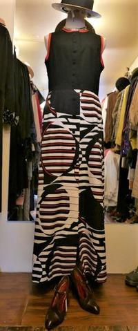 70's long dress - carboots