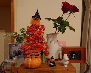 お部屋の片隅にハロウィンがやってきた - でろん子の転勤妻日記