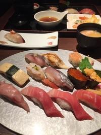 病院の帰りにお寿司 - 地上50mでも野菜はできました、そして3mへ