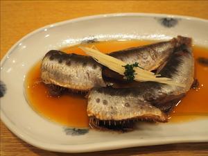 新宿割烹 中嶋でのランチは鰯の煮魚定食 - 人形町からごちそうさま