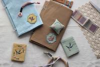 2019年10月『uzumさんの刺繍教室vol.2イニシャル刺繍ワッペン』のお知らせ・・・♪(画像追加あり) - 手づくりひとてまの会『文京区 初心者さん向け洋裁教室』