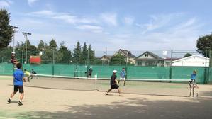 練習試合 VS成蹊大学 - 東京電機大学理工学部硬式庭球部