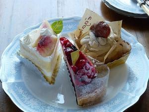 「パティスリー ソレイユ」のケーキ♪ - キッチンで猫と・・・