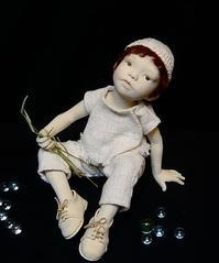 出展作品その3 - 杉本創作人形&ペペにゃん