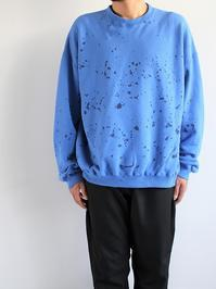 NOMA t.d.Tie Dye Twisted Sweat - Splash / Navy × Blue - 『Bumpkins putting on airs』