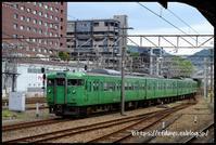 JR西日本103系・105系探訪記(9/16・祝、その1) - レンジファインダーな日々