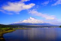 令和元年9月の富士(20)山中湖平野の浜の富士 - 富士への散歩道 ~撮影記~