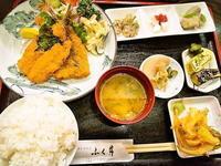 京都市 お得な鰯フライセット ふく井 - 転勤日記