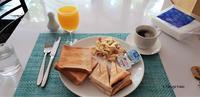 朝食@フルマーレのゲストハウス - モルディブ現地情報発信ブログ 手軽に気軽に賢く旅するローカル島旅!